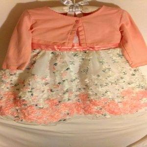 3T Floral Soutache Dress